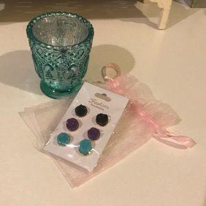 Jewelry - New In Packaging Set of 3 Stud Earrings